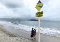 Corpo de Bombeiros Militar reforça segurança na praia de Canasvieiras em Florianópolis