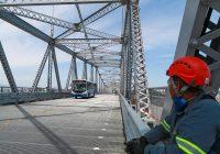 Governo libera circulação de veículos de emergência e transporte coletivo na Ponte Hercílio Luz
